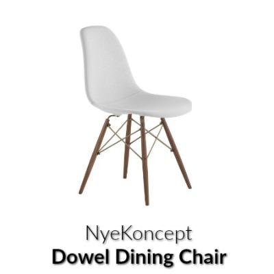 Mid Century Dowel Side Chair