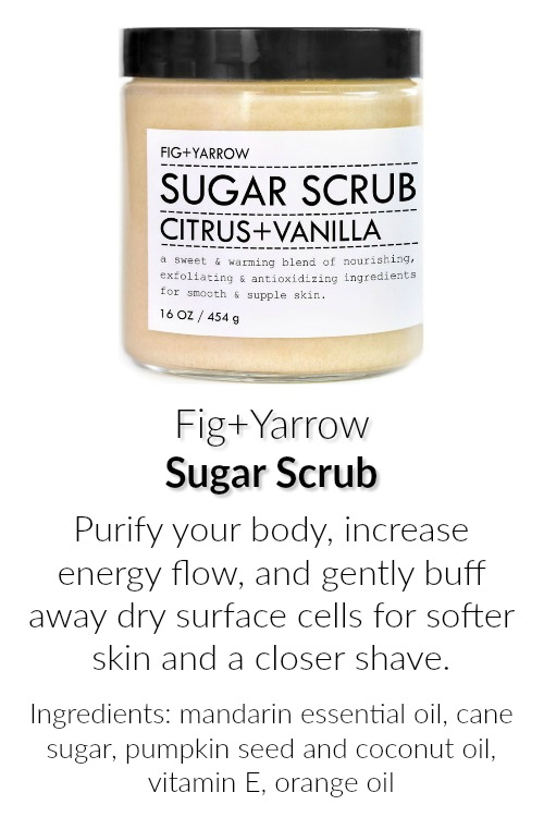 Fig and Yarrow Sugar Scrub