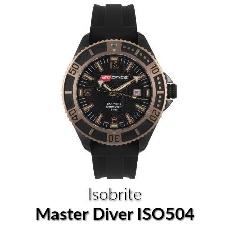master diver watch
