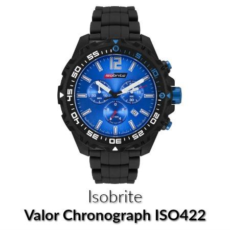 Isobrite valor chronograph