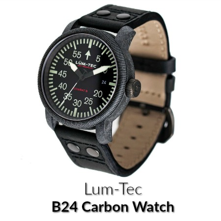 Lum-Tec B24 Carbon Watch