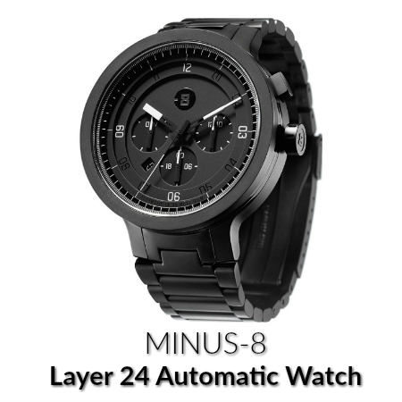 minus-8 layer 24 watch