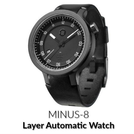 Minus-8 layer automatic watch