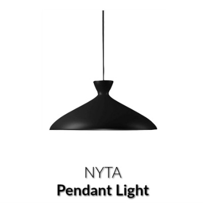 Nyta Pretty Wide Pendant Light