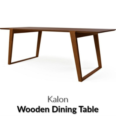 Kalon Isometric Wood Table