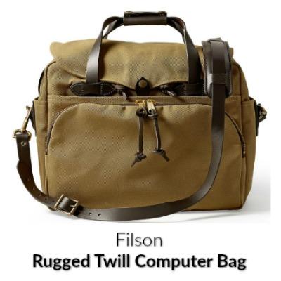 Filson Twill Computer Bag