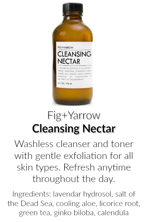 Fig and Yarrow Cleansing Nectar