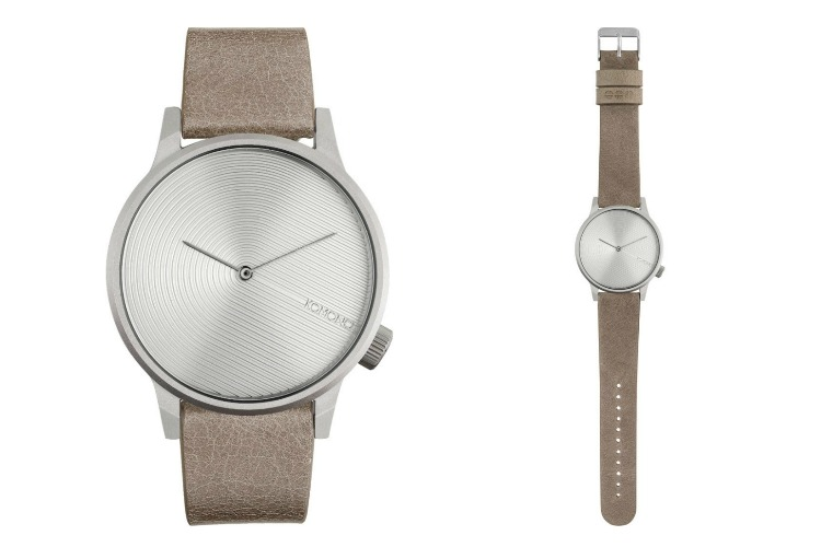 Komono Winston Deco Watch in Dove
