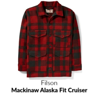 Red Mackinaw Cruiser Filson