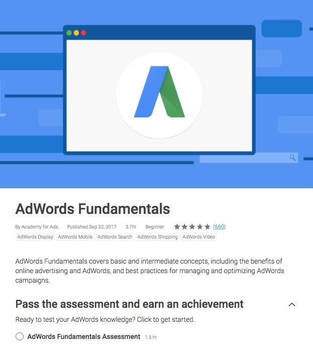 Adwords Fundamental