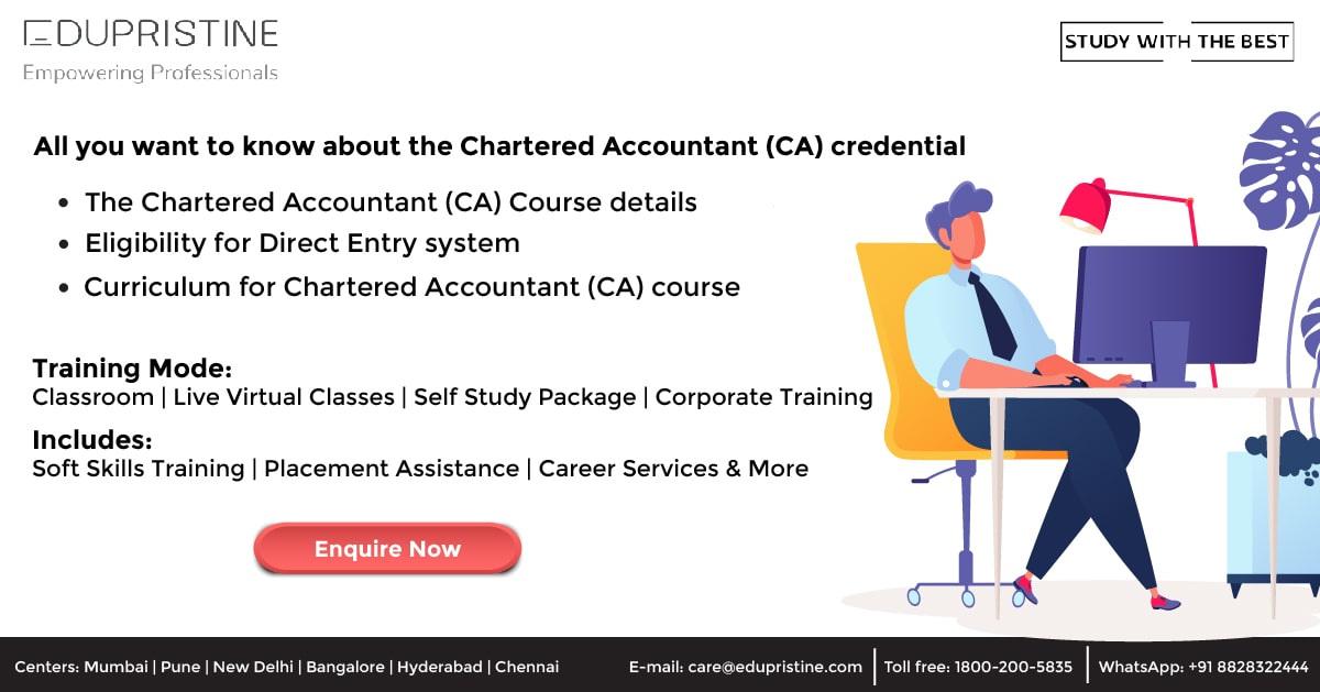 All you want to know about Chartered Accountant (CA) credential before getting started with the CA course