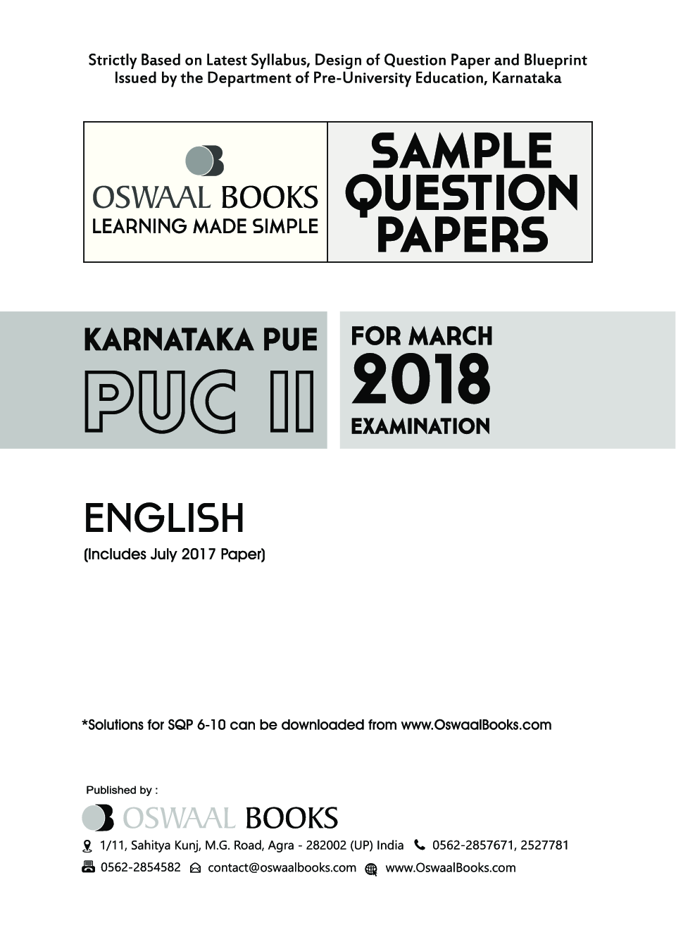 Download oswaal karnataka pue sample question papers for puc ii oswaal karnataka pue sample question papers for puc ii english march 2018 exam by panel of experts malvernweather Gallery