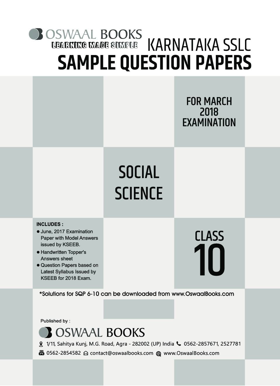 Oswaal karnataka sslc sample question papers for class x social oswaal karnataka sslc sample question papers for class x social science march 2018 exam by panel of experts fandeluxe Image collections
