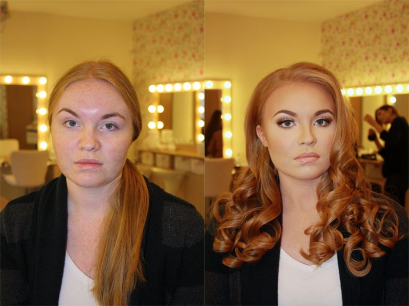 21 Photos That Demonstrate The Power Of Makeup