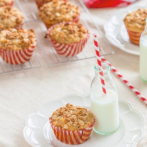 Banana ANZAC muffins – sugar free