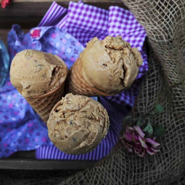 Cardamom Coffee Fig Ice Cream