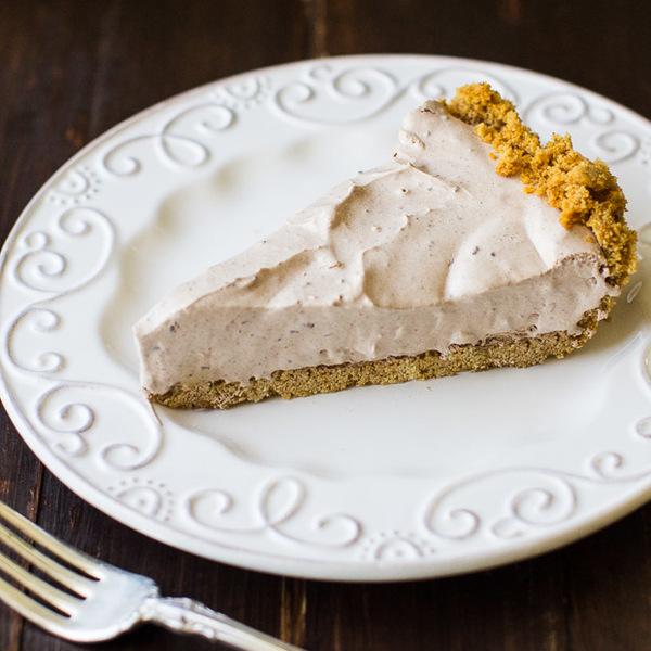 Chocolate Cream Pie with a Graham Cracker Crust
