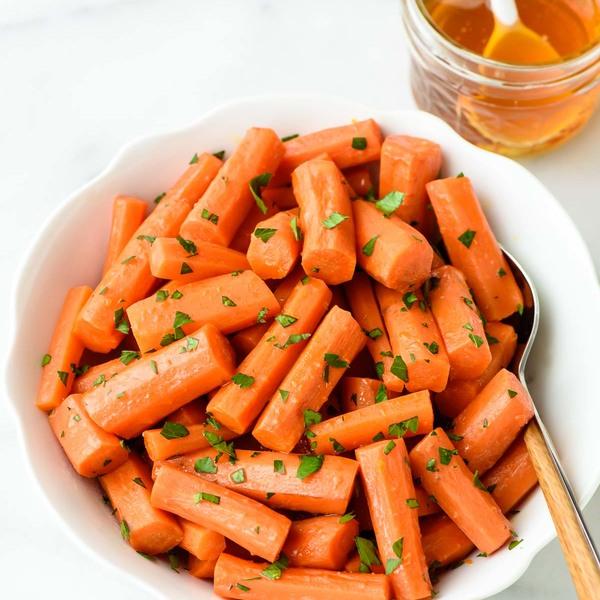 Crock Pot Honey Carrots