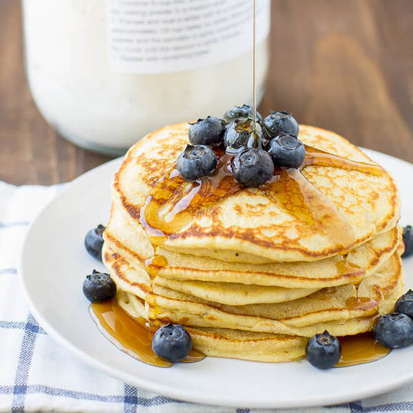 Homemade Healthy Pancake Mix