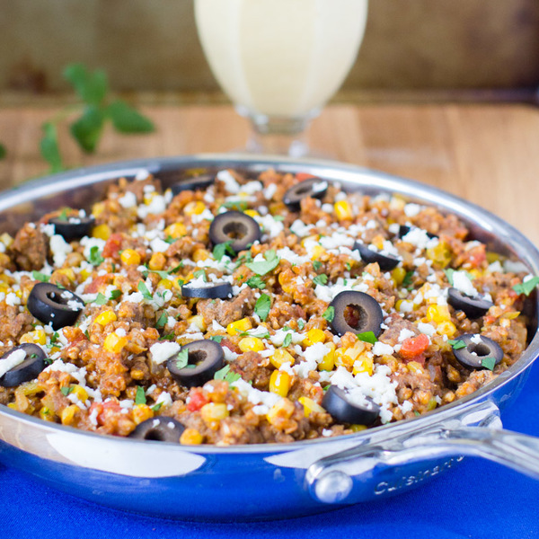 Mexican Skillet with Buckwheat (Kasha)