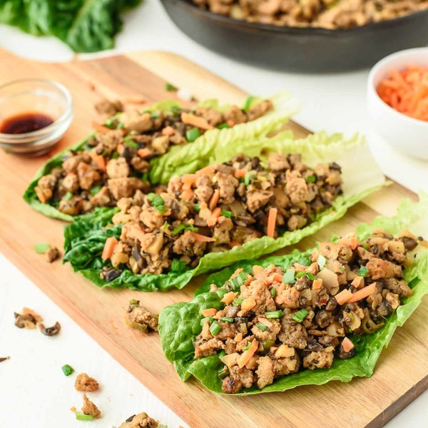Vegetarian Lettuce Wraps {Copycat PF Chang's}