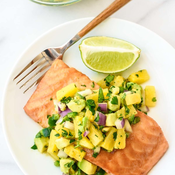 Pineapple Glazed Salmon