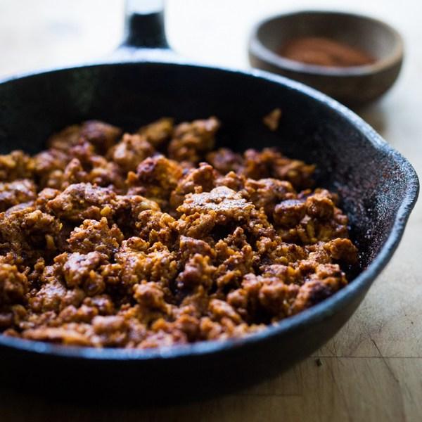 Easy Turkey Chorizo
