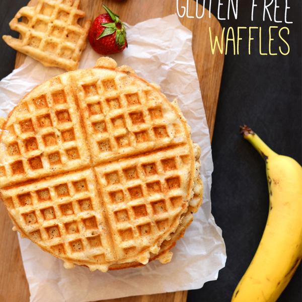 Vegan Gluten Free Oatmeal Waffles