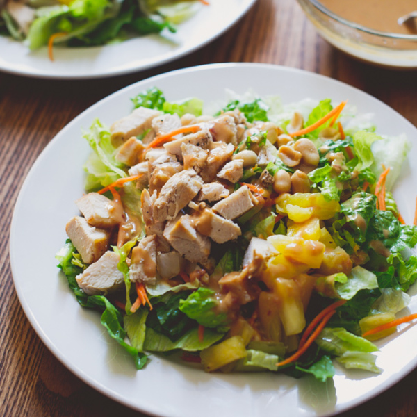Asian Chopped Chicken Salad – a delicious fridge-clearing recipe