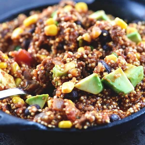 One Pot Mexican Quinoa Recipe
