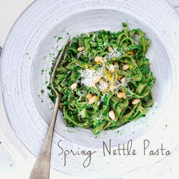 Spring Nettle Pasta