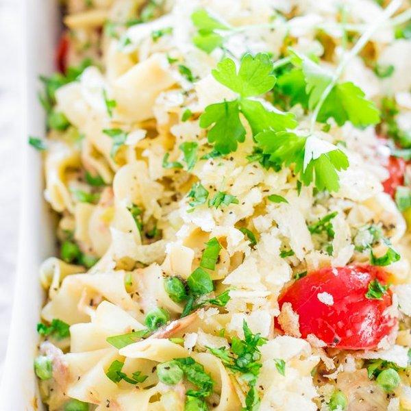 The Ultimate Tuna Noodle Casserole