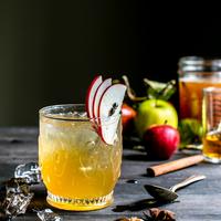 Bourbon Apple Cider Shrub Cocktails