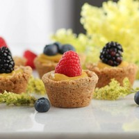 Lemon Curd Berry Tarts