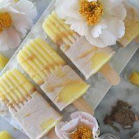 Caramel Coconut Cream Pineapple Popsicles