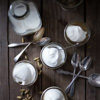 Cardamom Latte Panna Cotta