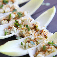 Endive with Pear and Blue Cheese