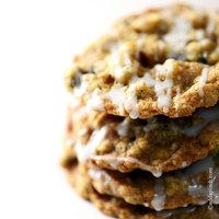 Iced Oatmeal Cookies Recipe