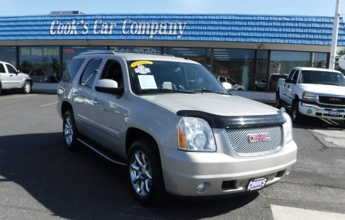 2009 Gmc Yukon Denali Suv Awd Dvd Entertainment 3rd Row 1