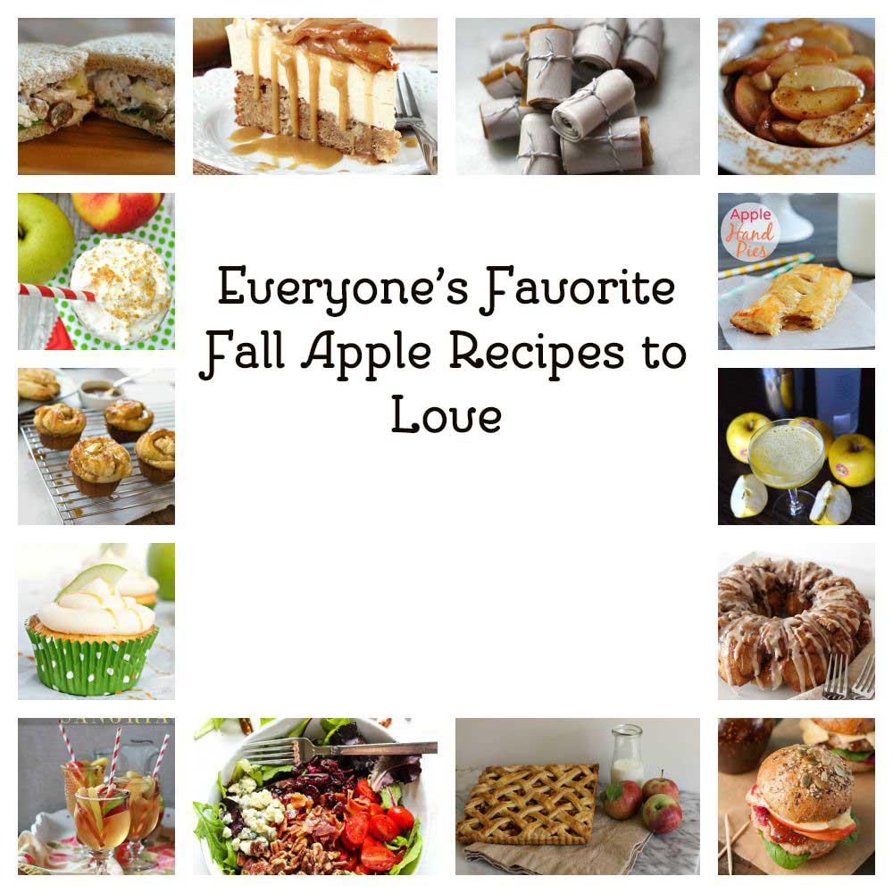 Everyone's Favorite Fall Apple Recipes