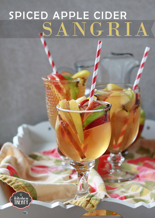Spiced Apple Cider Sangria Recipe