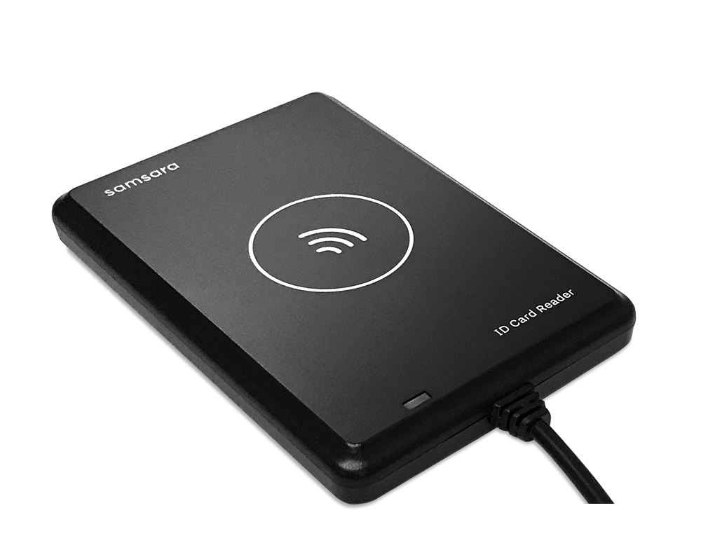 samsara id card reader