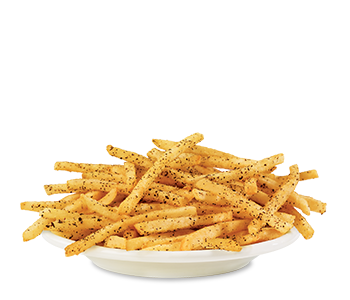 Sea Salt 'n Cracked Pepper Seasoned Fries