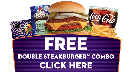 FREE - Original Dobule Steakburger™ Combo - Click here for details!