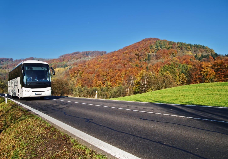 Bus huren voor reizen en tours