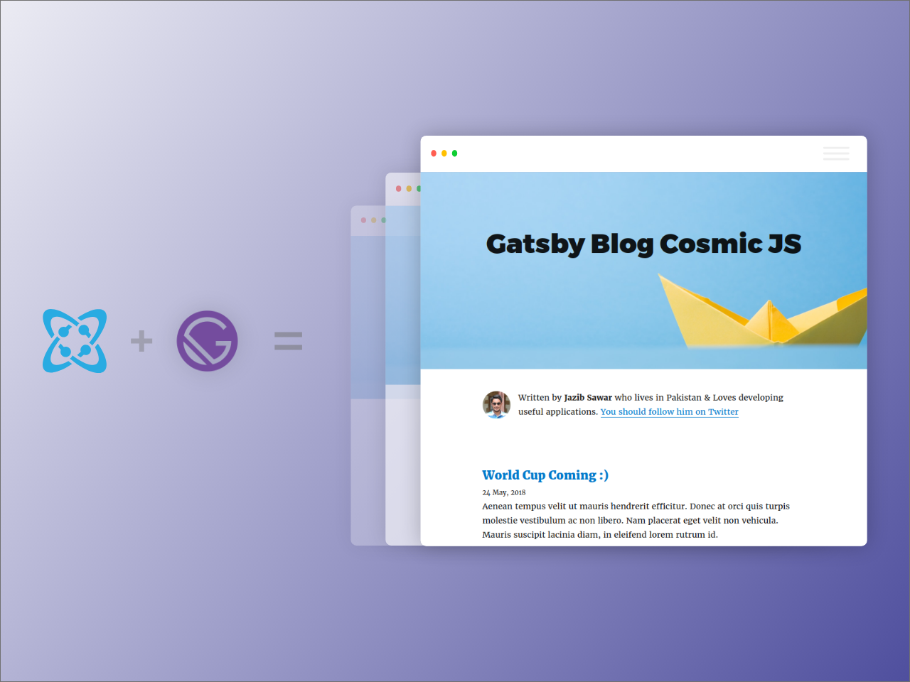 Developer Spotlight: Kyle Mathews of Gatsby | Cosmic JS