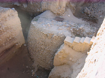 Photograph of the Jericho ruins