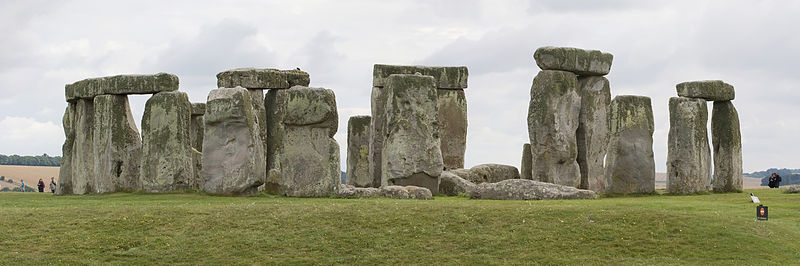 View of Stonehenge