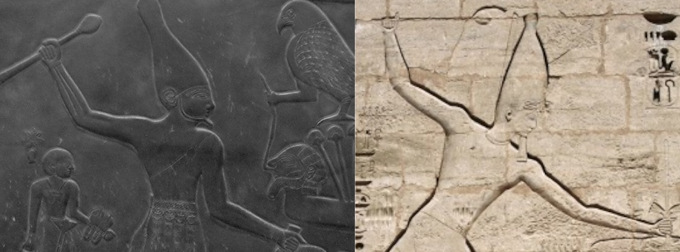 an analysis of the pallet on narmer a stone slab relief from ancient egypt At the top center of both sides of the stone slab palettes were common daily utensils in ancient egypt like narmer the narmer palette shows king narmer.