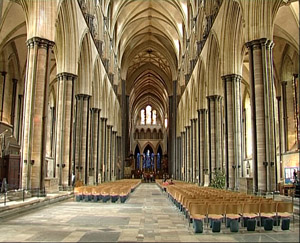 The Nave Is Narrow An Idea Emphasized By High Pointed Arches In Ceiling